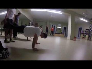 Crosstraining at Kouros Gym in Aegina Greece