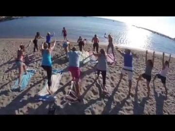 Top 8  spots for Yoga on Aegina island Greece