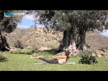 Boat Yoga Pose by Fotini Bitrou - Pure Fitness