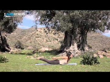 Boat Yoga Pose by Fotini Bitrou - Pure Fitness
