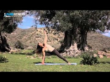Proud Warrior Yoga Pose by Fotini Bitrou - Pure Fitness