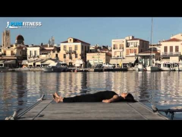Fish Yoga Pose by Fotini Bitrou - Pure Fitness