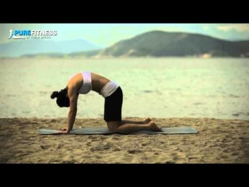 Cat & Dog Stretch Yoga Pose by Fotini Bitrou - Pure Fitness