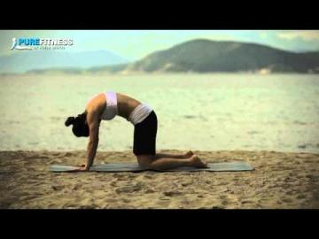 Cat & Dog Stretch Yoga Pose by Fotini Bitrou - Pure Fitness