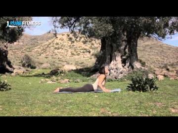 Cobra Yoga Pose by Fotini Bitrou - Pure Fitness